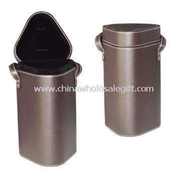 Portable PU Wine Box