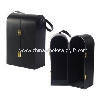 PU Leather Wine Packaging Box