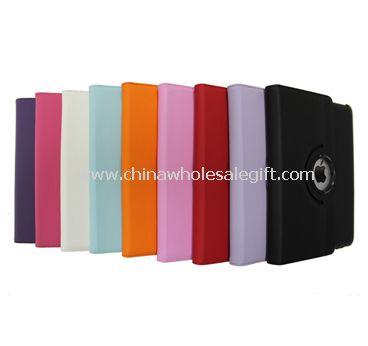 360 degrees rotation ipad2/3 leather case