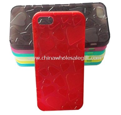 iPhone5 TPU case in Love shape