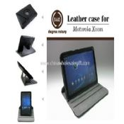 Leather Cases for Motorola Xoom 10.1-inch Tablet PC with Standing Function images