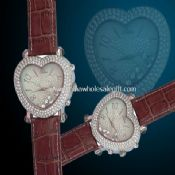 Heart shape jewelry watch images