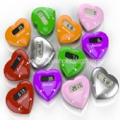 Heart Shape Touch Panel Pedometer images