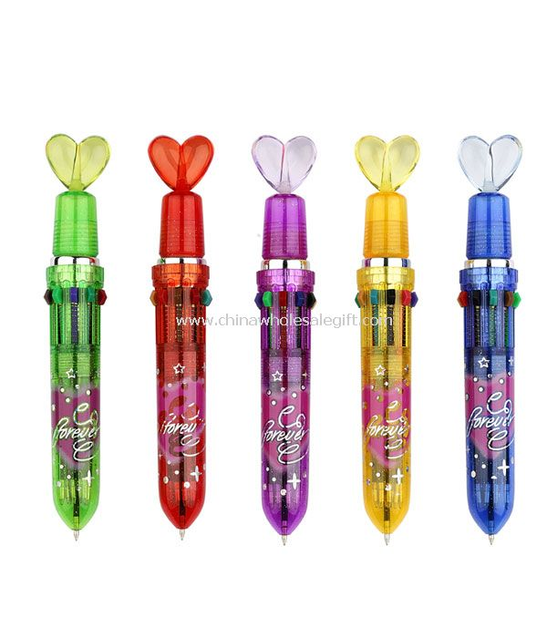 Heart Multicolor Pen