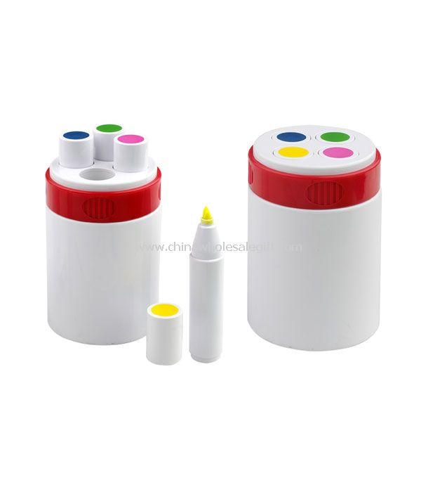 4pcs highlighter pen set