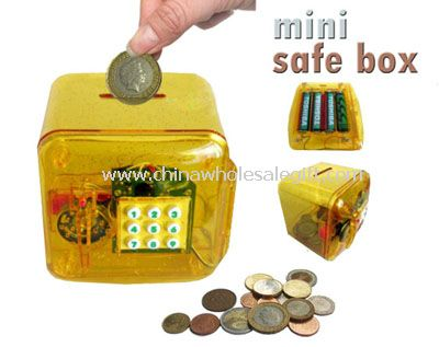 Multi-purpose password money saving bank