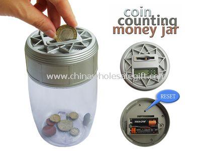Auto Counting Money Jar