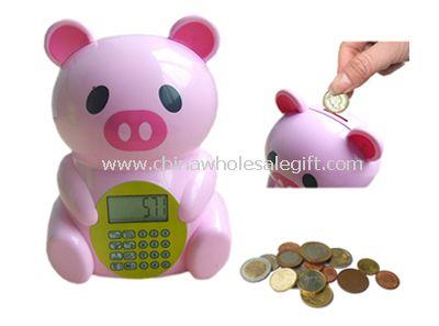 Bear shape Intellectual ATM Bank