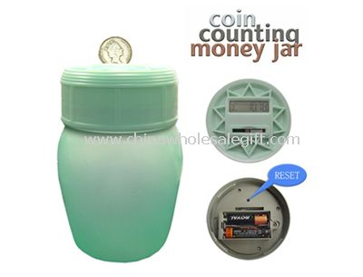 Coin Counting Money Box