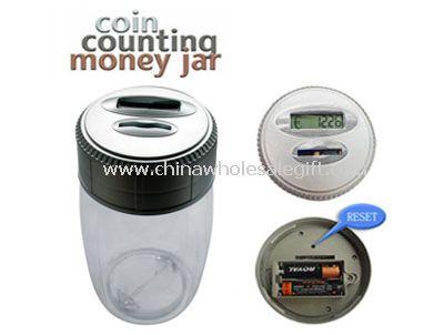 Digital Counting Money Jar