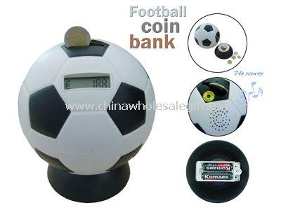 Football Counting Coin Bank