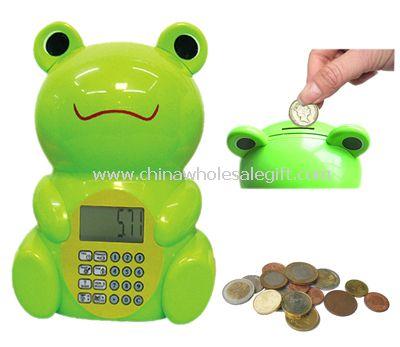 Frog shape Intellectual ATM Bank