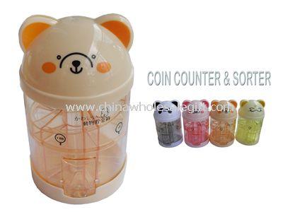 Intellectual Coin counter and sorter