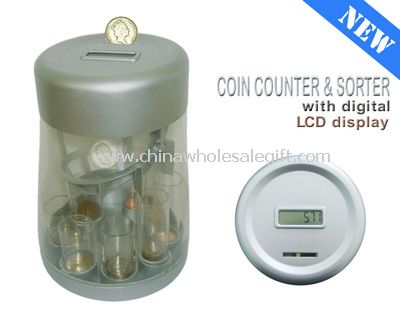LCD Display Coin Counter & Sorter