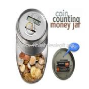 Clear Coin Counting Money Jar images