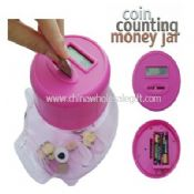 Coin Counting Piggy Money Jar images
