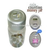 Digital Auto Coin Counting Money Jar images