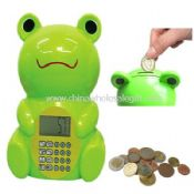 Frog shape Intellectual ATM Bank images