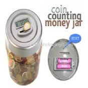 LCD Display Coin Counting Money Jar images