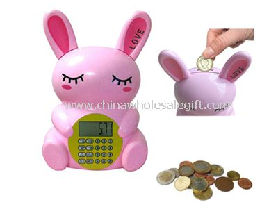 Rabbit shape Coin Bank
