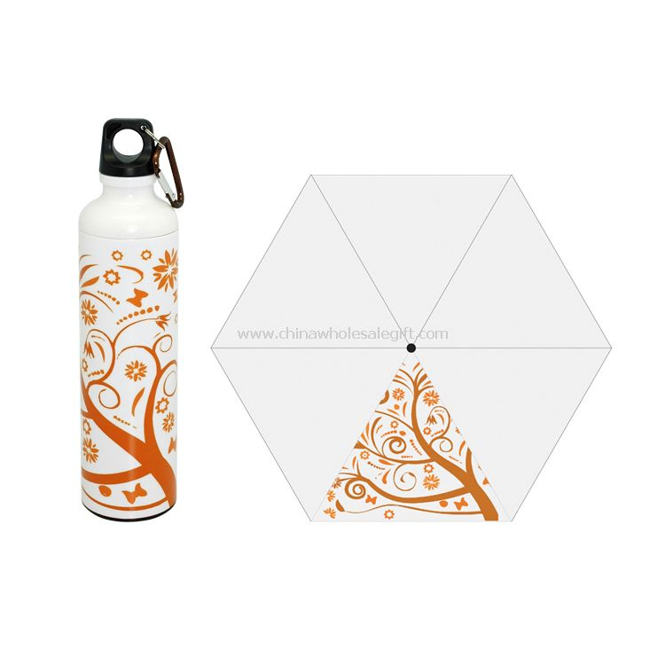 Art bottle umbrella