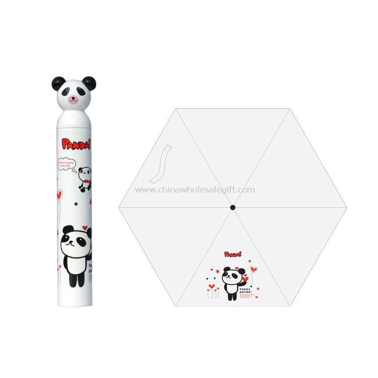 Cartoon Panda Umbrella