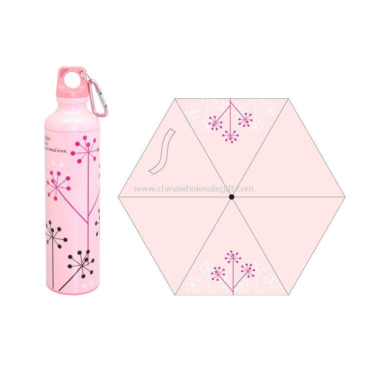 Flower Bottle Umbrella