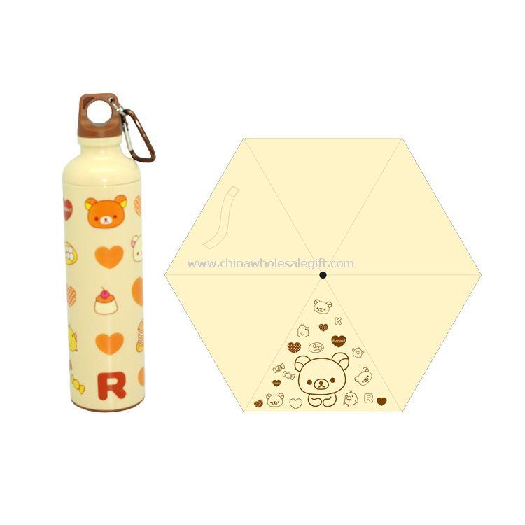 Little bear bottle umbrella