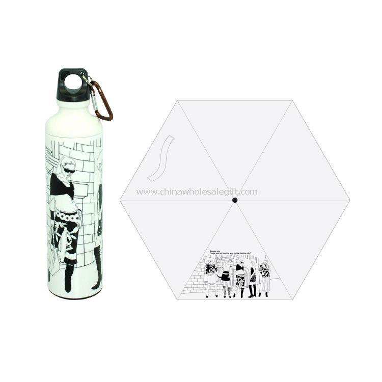 modern sports bottle umbrella