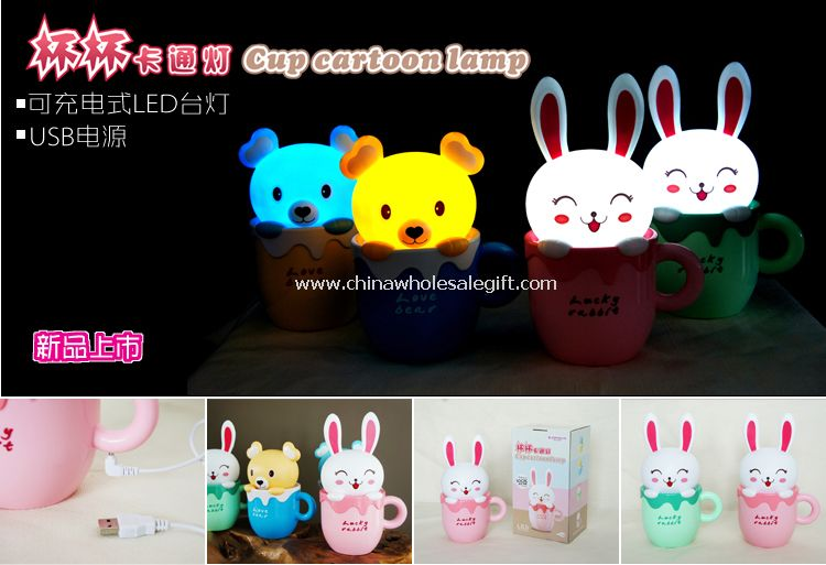 Cup Cartoon Lamp
