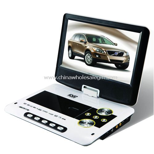 PORTABLE DVD PLAYER with TV receiver