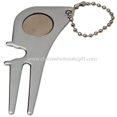 Golf Divot Tool with Key Chain