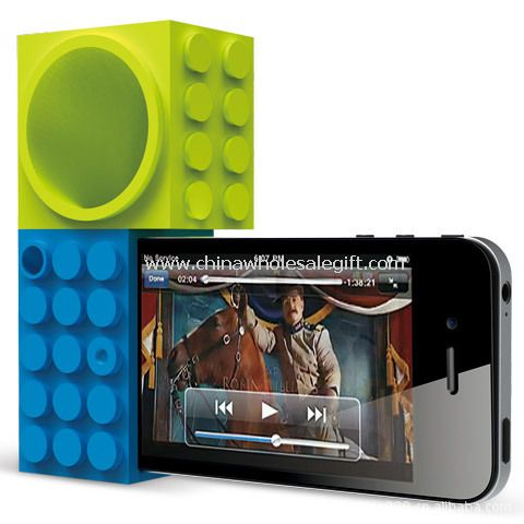 Toy bricks IPhone 4s speakers