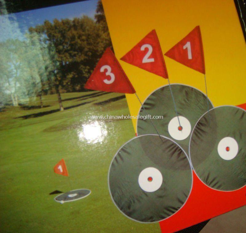 3 Hole Backyard Golf Course
