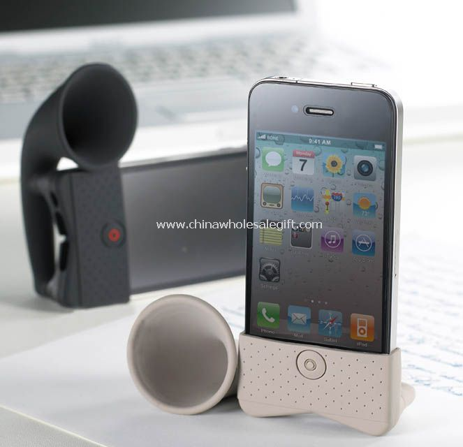 Mini Silicone IPhone Speaker