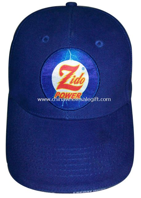 Gift sports cap with embroidery