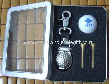 Golf Clip Watch Gift Set