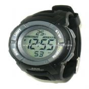 Digital watch with Thermometer images