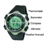 Multifunctional thermometer watch images