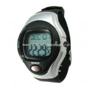 Pulse rate detecting watch images