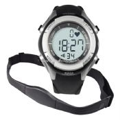 Wireless Heart Rate Monitor Watch with Alarm Clock images