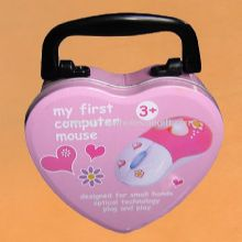 Heart shape Lunch Box with Handle images