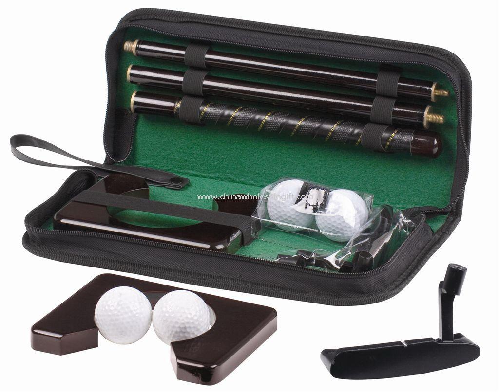 PU pouch golf putter set
