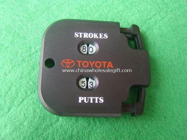 Logo Golf Manual Counter