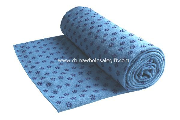 PVC Nubs Fancy Yarn Yoga Towel