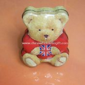 Bear Shaped Tin Box images