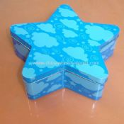 Star Shaped Tin Box images