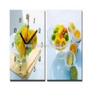 Promotion painting wall clock images