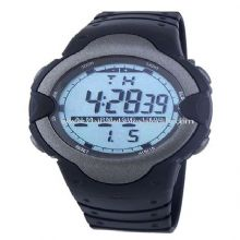 PU watch band Digital watch images