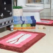 Acrylic 2pc bath mat with ruber backing images